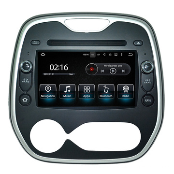 Auto Video für Renault Captur USB Auto Video Player DVD GPS Radio Navigation Video Interface Audio System 12V Bt TV