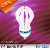8000hrs 6500K E27 105W Energy saving CFL Lotus lamps