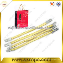 веревка с металлическим зубцом конца для мешка ручки