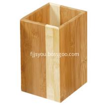 Bamboo Utensil Holder Wooden Kitchen Tool Holder
