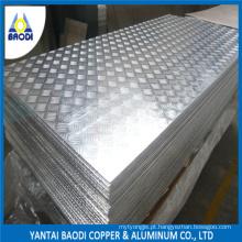 1050, 1060, 3003, 5052 Placa de Piso de Alumínio