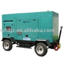 Generador diesel del remolque de los ejes dobles
