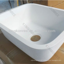 italian commercial artificial stone kitchen sink