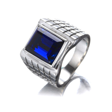 Cincin White Gold Cut Berlian Engagement pria