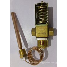 brass water flow control valve