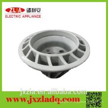 Échangeur de chaleur en aluminium circulaire pour ampoules à LED, dissipateur de chaleur à extrusion circulaire en aluminium