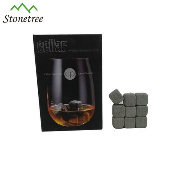 Bar Accessories Square Lava Ice Cube Whiskey Ice Stone