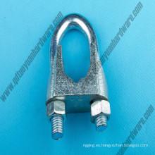 DIN741 Commercial Soportes de cuerda de alambre Clips sin ranuras