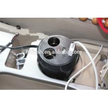 HF-LY0186 (109) IPAD recarregável de isqueiro do carro um dois um pontos dois duplo USB copo atualização IC (certificado do CE)