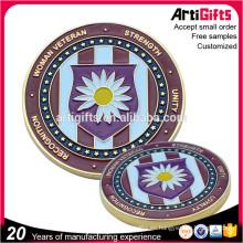 Moneda conmemorativa del metal plateado personalizado de la promoción al por mayor para la venta