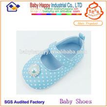 El texto famoso de la marca de fábrica pasó los zapatos de bebé de la alta calidad