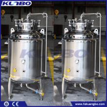 Réservoir micro à couche unique KUNBO en acier inoxydable pour bière