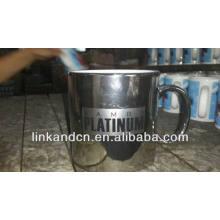 Haonai 23oz plata galvanoplastia cerámica taza con logo