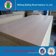 4X8 Size Natural Veneer Plywood with Good Quality