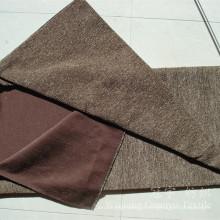 Tissu de sofa teint par fil de polyester de Chenille de tapisserie d'ameublement