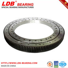 Single-Row Four Point Contact Slewing Ball Bearing with Internal Gear 9I-1b45-1187-0352