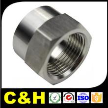 Torno de aço de carbono médio jateado girado peças