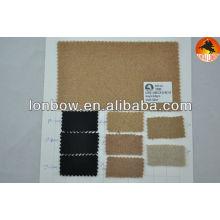 tela de lana melton de stock