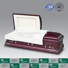 LUXES pendentes caixão tamanho grande Funeral caixões para venda