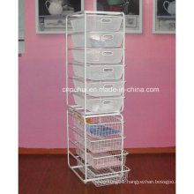 Multi Layer Garments Storage Basket (LJ4017)