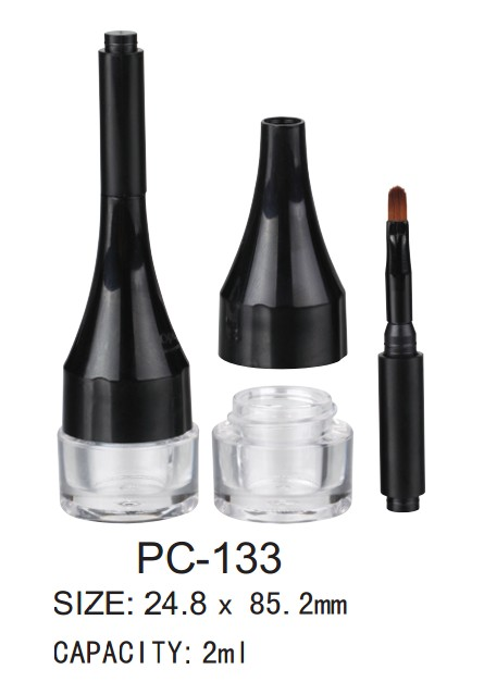 cosmetic plastic eyeliner gel case