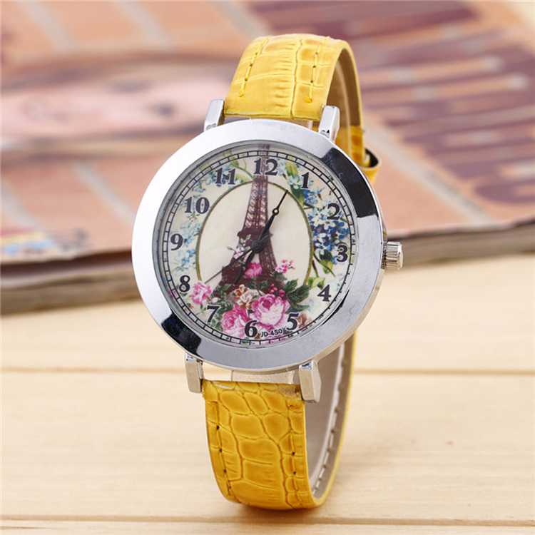 High Quality Noble Leather Wrist band Watch