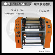 RW-2000 semi-automatic stretch film slitting and rewinding machine
