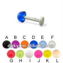 Neue Art Lippe Ring Piercing Schmuck, chirurgischen Stahl Labret Körper Schmuck Piercing