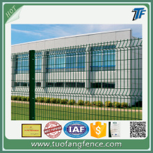 CCTV 3D Metal Mesh Fencing Panels