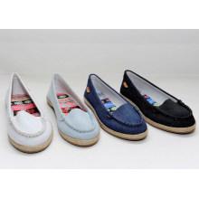 Chaussure de toile slip-on décontractée pour femme 2015