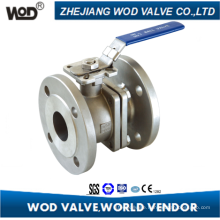 2PC DIN Flange Ball Valve