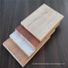 Hot sale E0 double sided melamine laminated plywood for cabinet