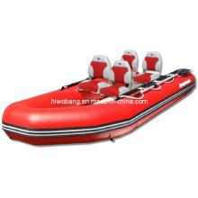 2016 neues Entwurfs-Fischen-aufblasbares Boot
