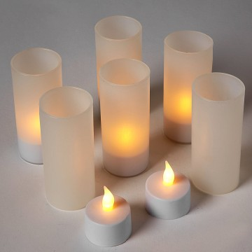 Enlighten LED candle