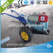 Tractor que camina de la maquinaria agrícola con la sierpe rotatoria, sierpe rotatoria en venta