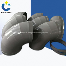 PP polypropylene elbow pipe for ventilation pipelines