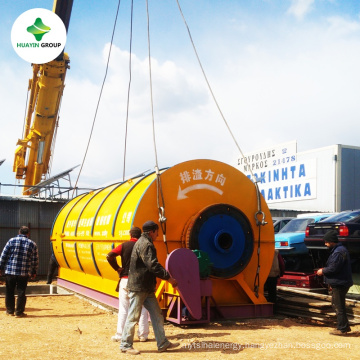 Waste Tyre Recycle To Fuel Oil Pyrolysis Machine