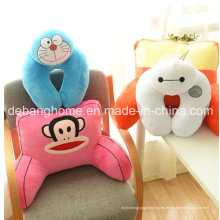 Almohada / amortiguador cómodos cómodos de la cintura de la historieta linda de la venta caliente de la oficina