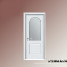 Porta de madeira quarto móveis carvalho e vidro porta interior