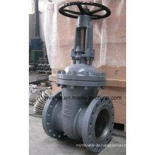 ANSI 150lb 300lb Cast Kohlenstoffstahl Wcb Flansch Absperrschieber