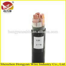 Types de câbles basse tension en XLPE