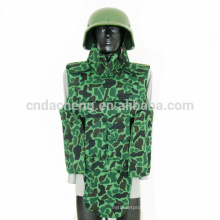 green bullet proof vest