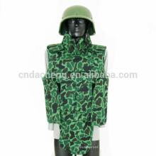 Colete verde prova bala