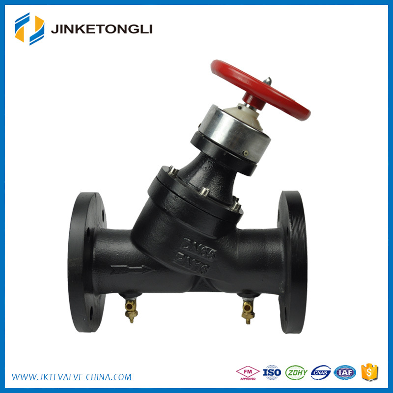 Zero Leakage Stainless Steel Digital Lock Balancing Valve with Good Quality