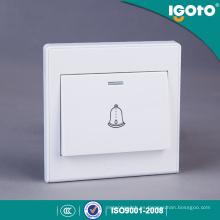 Igoto British Standard D2091 interruptor de pared de botón eléctrico de puerta de botón
