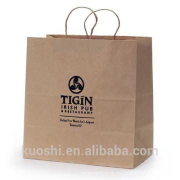 bolsa de papel kraft barata de china