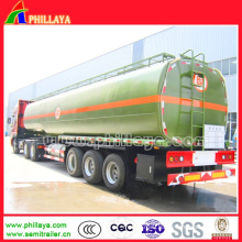 3 Axles 40-55cbm Caustic Soda Tank Semi Trailer with Tanker