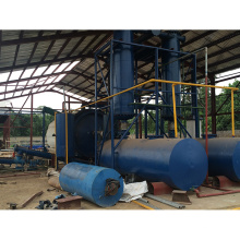 Planta de reciclaje completamente continua del neumático de la chatarra al aceite combustible de Zhengzhou China