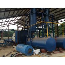 Usine de pyrolyse de déchets favorable à l'environnement pour les machines en plastique de pyrolyse de rebut de caoutchouc avec10 T / D