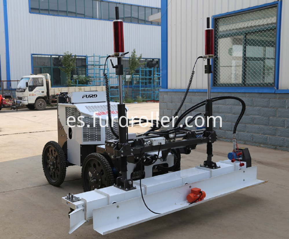 Ride On Concrete Vibration Laser Screed